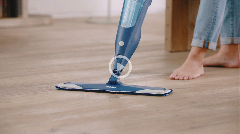 Make sure you have the right mop to clean hardwood floors.
