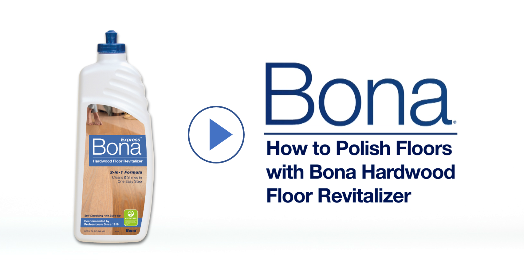 How to Refresh Wood Floors with Bona
