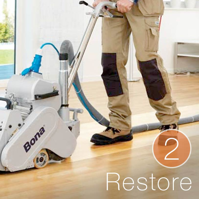 <p><strong>Purpose</strong>&mdash;Replaces the finish of your floor, the main layer of protection.</p><br/><br/><p>&nbsp;</p><br/><br/><p><strong>Benefits</strong>&mdash;Repair light scratches. Restores shine. Gives floor new protective layer.</p><br/><br/><p>&nbsp;</p><br/><br/><p><strong>Time</strong>&mdash;Floors ready overnight.</p><br/>
