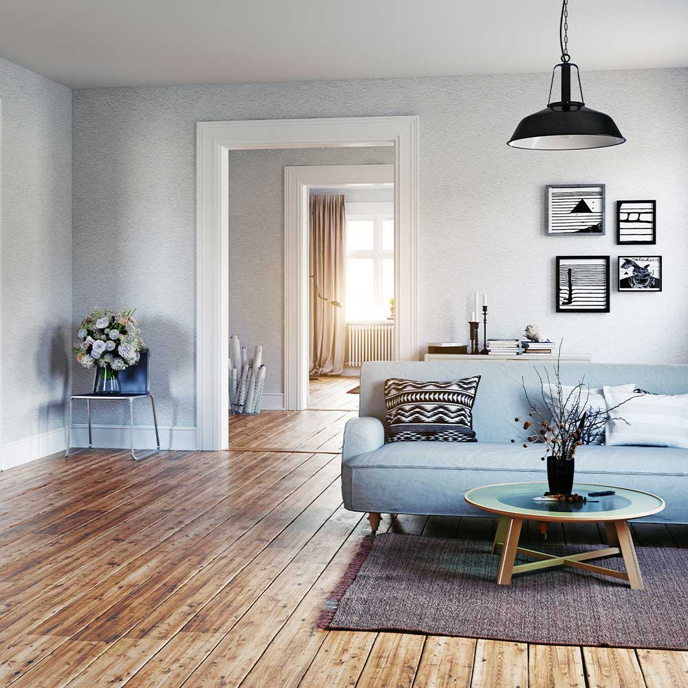 <p>Highly sought-after flooring type. Can increase home value and resale price. Comes in a variety of colors, finishes and styles to fit your personality. Can be refinished over its lifetime so it doesn&rsquo;t need to be replaced.</p><br/>